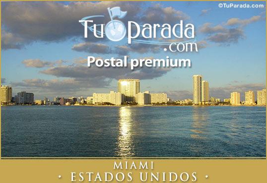 Tarjeta - Miami - Estados Unidos