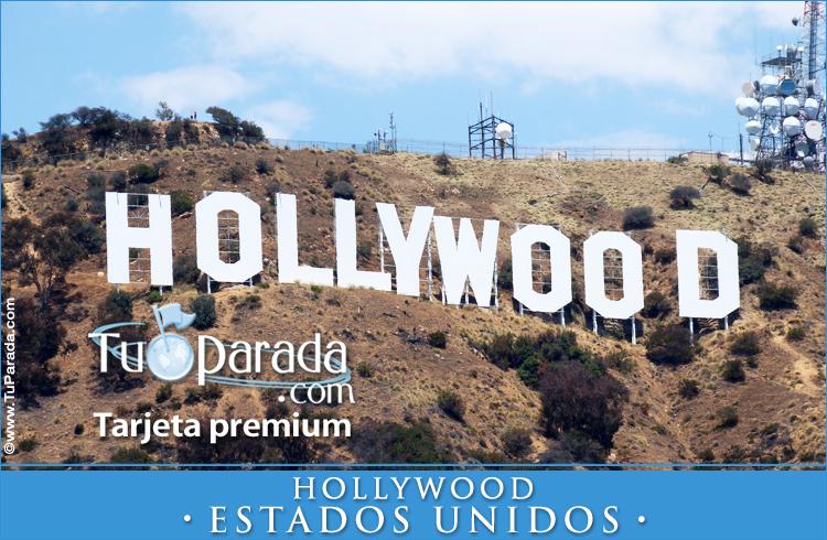Tarjeta - Foto de Hollywood - Estados Unidos