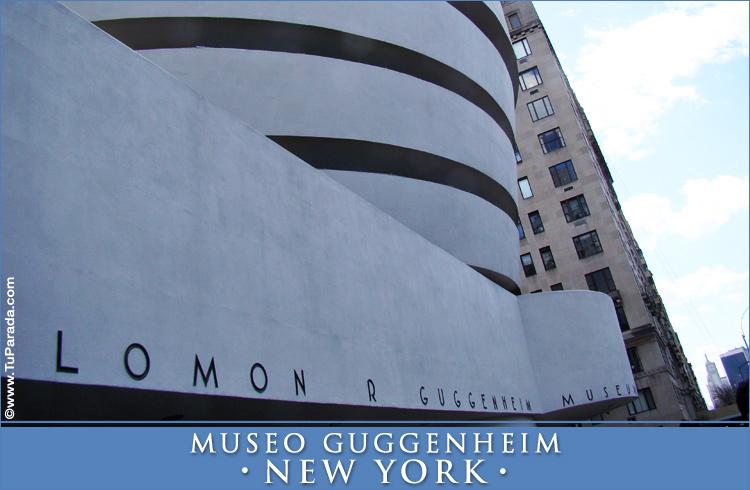 Tarjeta - Museo Guggenheim - New York
