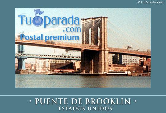 Tarjeta - Puente de Brooklin