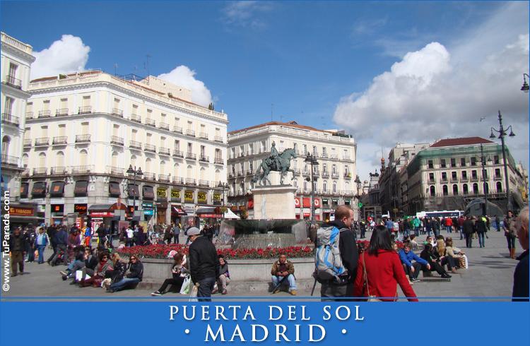 Puerta del sol madrid fotos de espa a tarjetas for Puerta 6 del autodromo