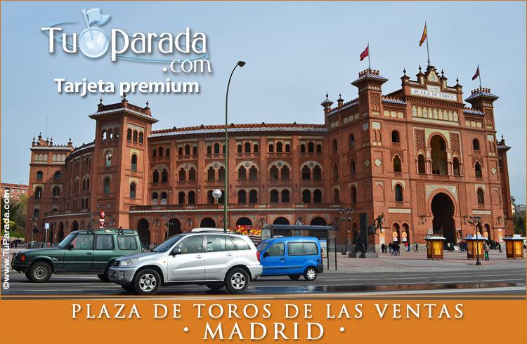 Tarjeta - Plaza de Toros de las Ventas - Madrid