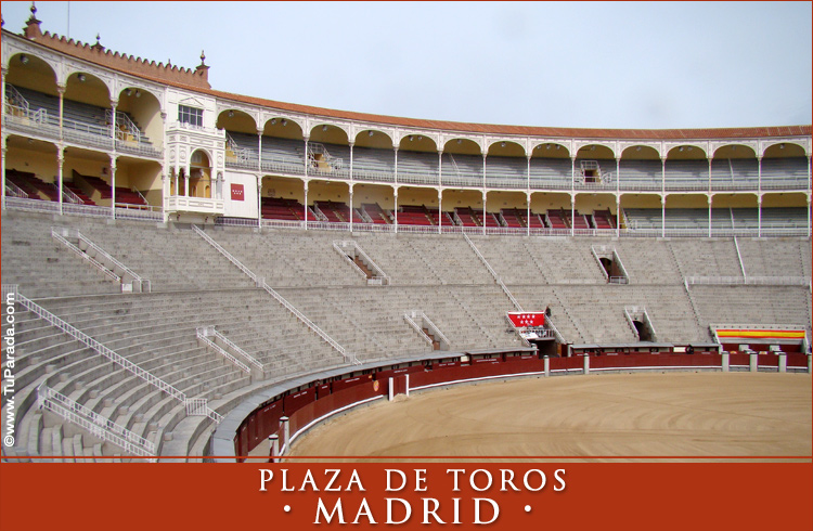 Tarjeta - Foto de la Plaza de Toros - España