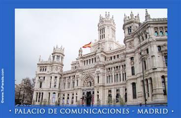Palacio de Comunicaciones - Madrid