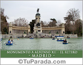 Monumento a Alfonso XII - El Retiro