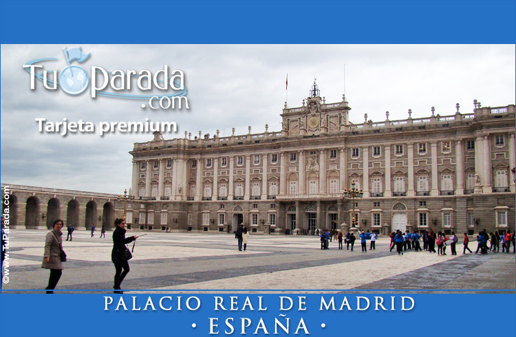 Tarjeta - Palacio Real de Madrid