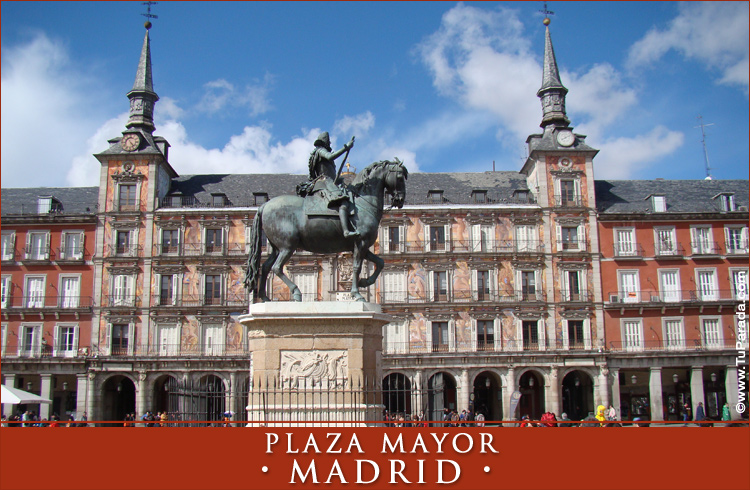 Tarjeta - Foto de Madrid - Plaza Mayor