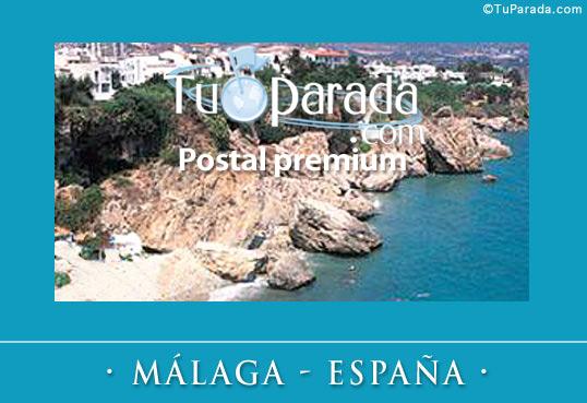 Tarjeta - Málaga
