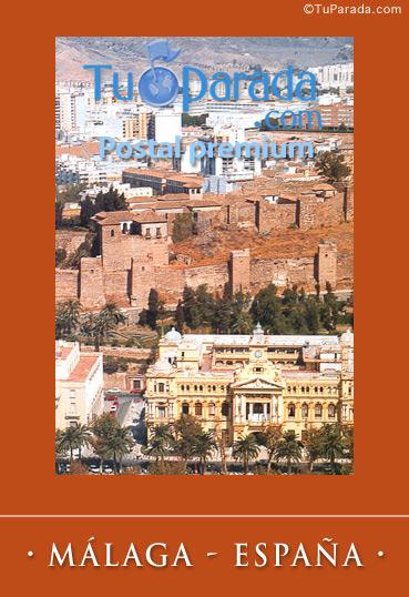 Tarjeta - Foto de Málaga