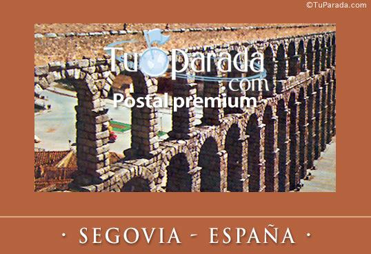 Tarjeta - Segovia