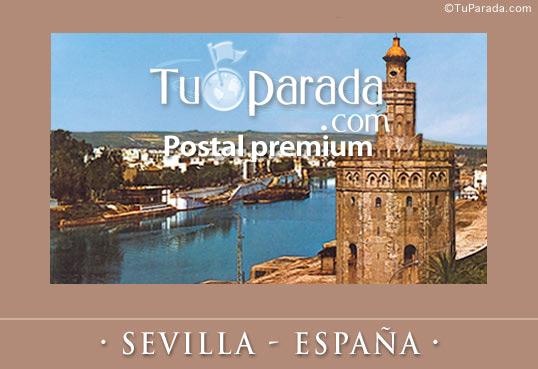 Tarjeta - Foto de Sevilla