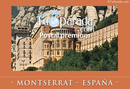 Tarjeta - Montserrat