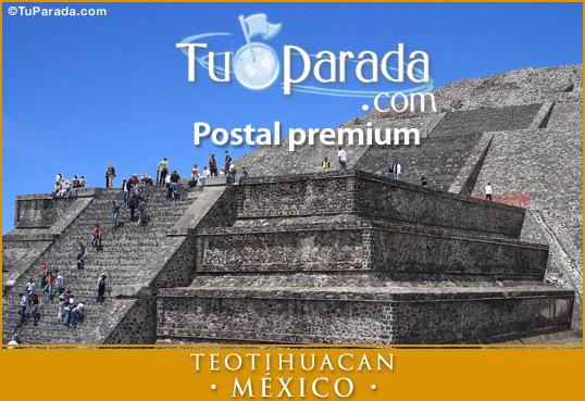 Tarjeta - Foto de Teotihuacan