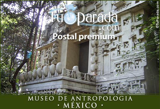 Tarjeta - Museo de Antropología