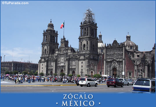 Tarjeta - Zócalo - México