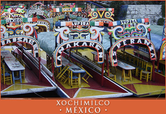 Tarjeta - Xochimilco - México