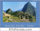 Foto de Machu Pichu