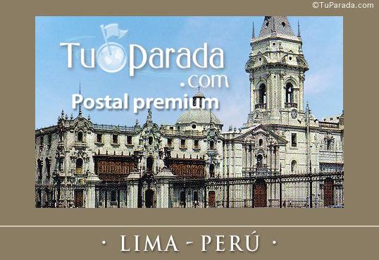 Tarjeta - Lima