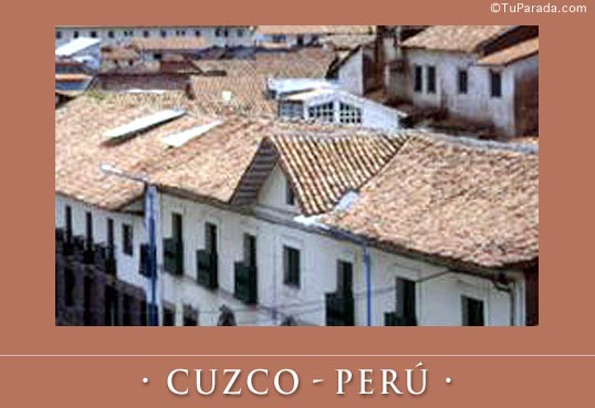Tarjeta - Cuzco