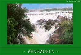 Tarjeta de Fotos de Venezuela