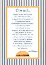 Dios está...