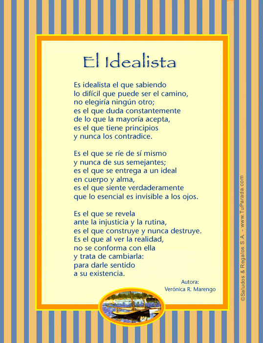 Tarjeta - El idealista