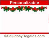 Crear postales de Felices Fiestas