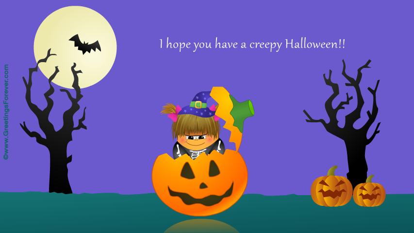 Ecard - Creepy Halloween