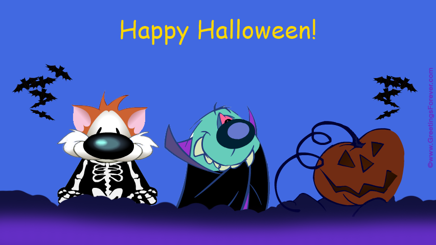 Ecard - Halloween night