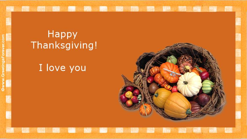 Ecard - Happy Thanksgiving