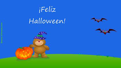 Crear tarjeta de Halloween