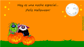 Tarjeta de Halloween