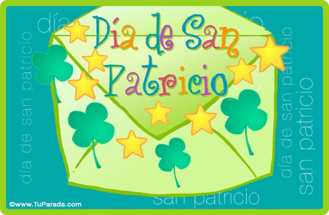 Tarjeta - Tarjeta para el Día de San Patricio