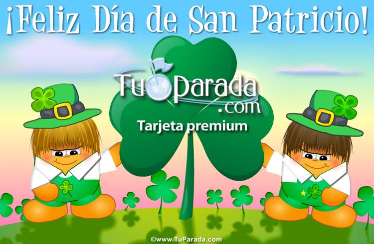Tarjeta - Tarjeta virtual de San Patricio
