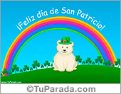 Tarjeta de San Patricio