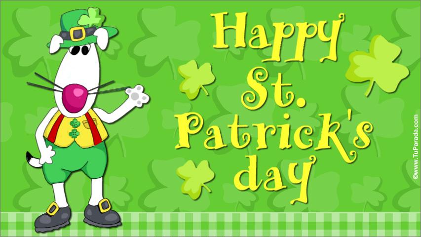 Tarjeta - Happy St. Patrick's day