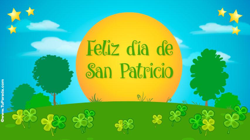 Tarjeta - Feliz día de San Patricio