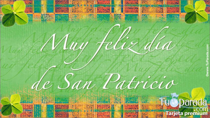 Tarjeta - Día de San Patricio
