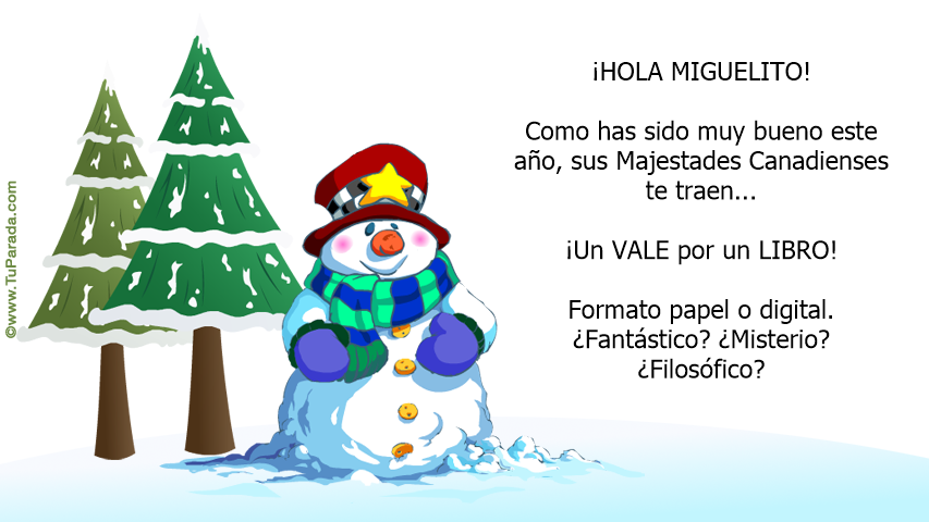 Tarjeta - Miguelito