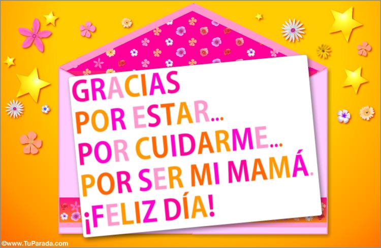 Tarjeta con mensaje para mam d a de la madre tarjetas - Solicitar tarjeta club dia ...
