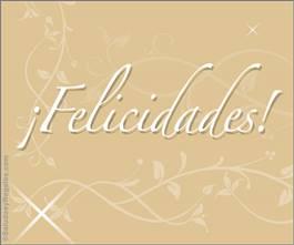 Tarjeta de felicidades para todos