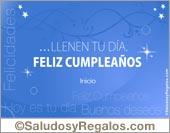 Feliz cumpleaños azulino