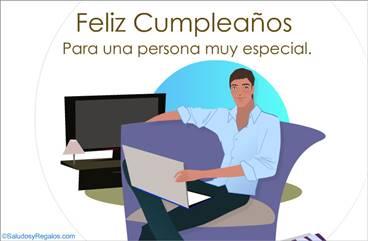 Feliz cumpleaños para hombre