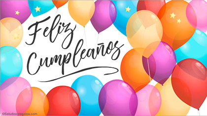 Tarjetas, postales: Cumpleaños formal