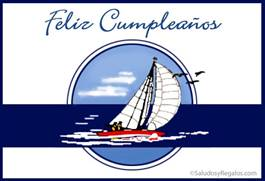 Feliz cumpleaños marino