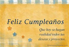 Los mejores deseos para tu cumpleaños