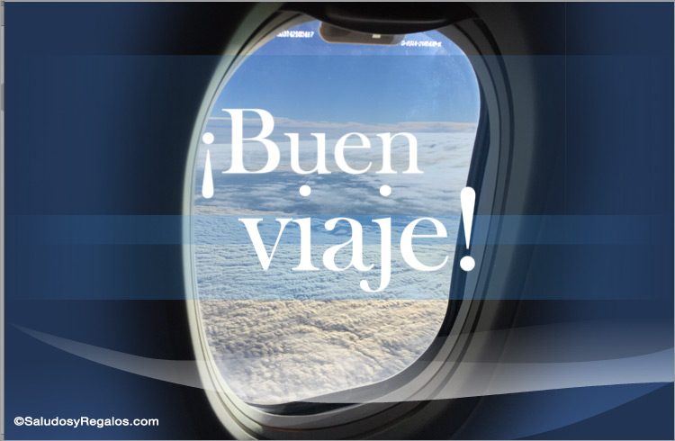 Tarjeta De Buen Viaje Viajes Y Vacaciones Tarjetas