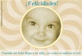 Cuando un bebe llega...