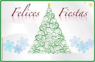 Felices Fiestas con árbol deco