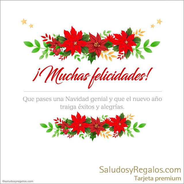 Tarjeta - Que pases una Navidad genial